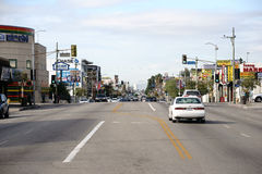 Koreatown洛杉矶 免版税库存图片