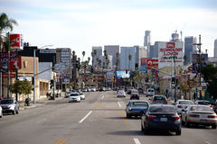 Koreatown Los Angeles Royalty Free Stock Photography