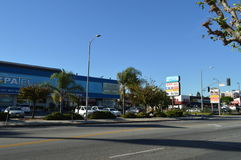 Koreatown Mall Los Angeles Western Blvd. 2015 Stock Images