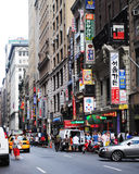 Koreatown New York Stockfotos