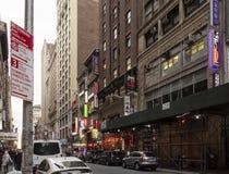 Koreatown, New York City Royalty Free Stock Photos