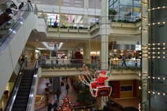 Koreatown Plaza Los Angeles Atrium Christmas. 2015 Stock Images
