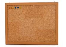 korek deskowa kolorowa rama przyczepia drewnianego Zdjęcie Royalty Free