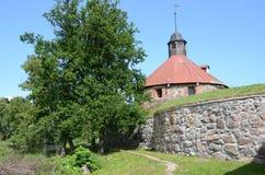 Korela fästning Royaltyfria Bilder