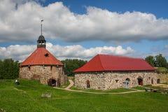 Korela-Festung Lizenzfreies Stockfoto