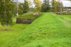 Korela-Festung (Kexholm) in Priozersk, Russland Stockfotos