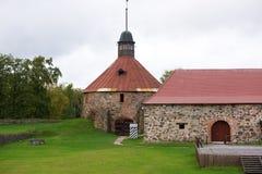 Korela-Festung (Kexholm) in Priozersk, Russland Stockbilder