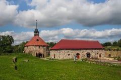 Korela-Festung, Priozersk, Russland Stockbild