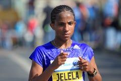 Koren Jelela - Prague marathon 2015 Stock Photography