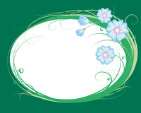 Korenbloemen, het vignet royalty-vrije illustratie