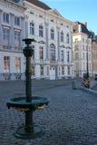 Korenlei gent belgië royalty-vrije stock foto's