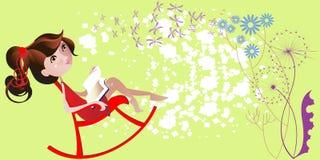 korespondencja romantyczna ilustracja wektor