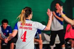 Korfball Championship Antalya - Turkey Royalty Free Stock Images