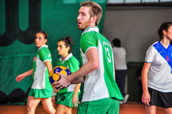 Korfball Championship Antalya - Turkey Royalty Free Stock Photo