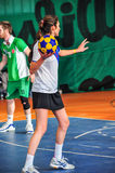 Korfball Championship Antalya - Turkey Royalty Free Stock Images