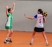 Korfball Championship Antalya - Turkey Stock Photos