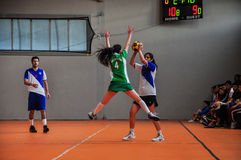 Korfball Championship Antalya - Turkey Royalty Free Stock Image
