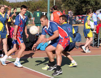 Korfball League Mens games Royalty Free Stock Photography