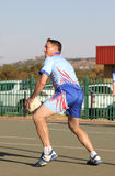 Korfball League Mens games Stock Image