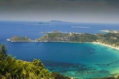 Korfu, Agios Georgios, Griechenland stockfotografie
