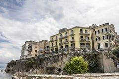 Korfu capital Stock Photos