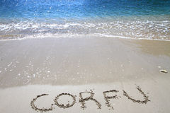Het eiland van Korfu Royalty-vrije Stock Afbeeldingen