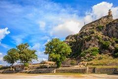Korfu-Festung Lizenzfreie Stockfotografie