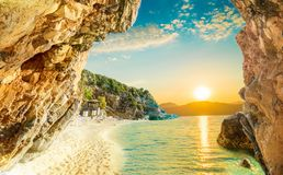 korfu Greece obraz stock