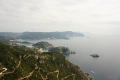 Korfu grekisk ö Fotografering för Bildbyråer