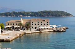 Korfu ö i Grekland Royaltyfri Foto
