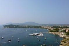 Korfu-Insel, Griechenland Stockbild