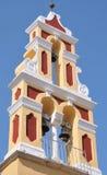 Korfu-Kirchturm Lizenzfreies Stockbild