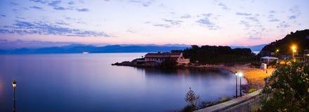 Korfu-Landschaft Lizenzfreies Stockbild
