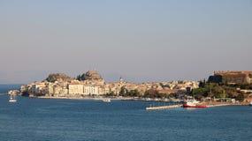 Korfu stad Royaltyfri Bild