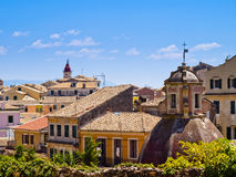 Korfu-Stadt Lizenzfreies Stockbild