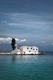 Korfu-Stadt-Vlacherena-Kloster, Griechenland lizenzfreie stockfotos