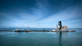 Korfu-Stadtkapelle, Griechenland lizenzfreies stockfoto