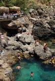 Korfu strand Royaltyfri Foto