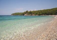 Korfu-Strand Lizenzfreie Stockbilder