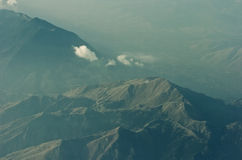 """Korfu wilde aard van bergtoppen †de """" Stock Foto"""