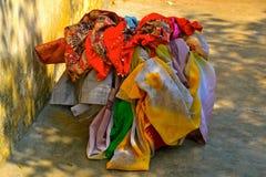 Korg av tvätterit Arkivbild