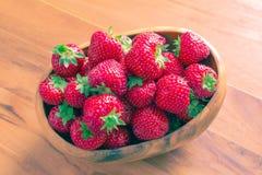 Korgen av jordgubben Royaltyfria Bilder