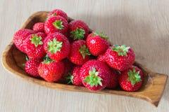 Korgen av jordgubben Royaltyfri Bild