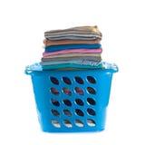 korgkläder vek tvätterit arkivfoton
