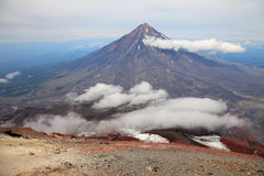 Koriaksky Volcano Royalty Free Stock Image