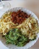 Korian mat Fotografering för Bildbyråer