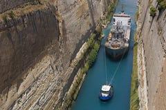 Korinth-Überfahrt Lizenzfreie Stockfotografie