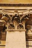 Korinthische Säule in Greenwich Stockfotos