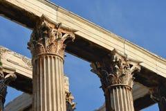 Korinthische Säulen Lizenzfreies Stockbild