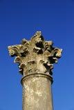 Korinthischer Pfosten Stockfoto